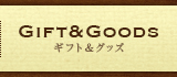 GIFT&GOODS ギフト&グッツ
